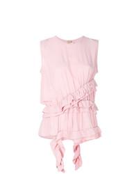 rosa ärmelloses Oberteil von Marni