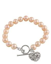 rosa Armband von Bella Pearls