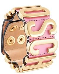 rosa Armband von Moschino