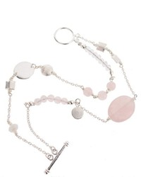 rosa Armband von Silver Rainfall