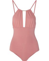 rosa Badeanzug mit Ausschnitten von Melissa Odabash