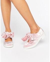 rosa Ballerinas von Asos
