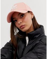 rosa Baseballkappe von adidas Originals