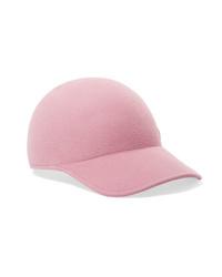 rosa Baseballkappe von Maison Michel