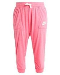 rosa bedruckte Jogginghose von Nike