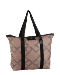 rosa bedruckte Shopper Tasche aus Segeltuch von DAY Birger et Mikkelsen