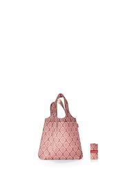 rosa bedruckte Shopper Tasche aus Segeltuch von Reisenthel