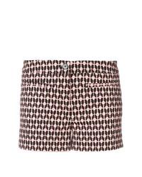 rosa bedruckte Shorts von Dondup