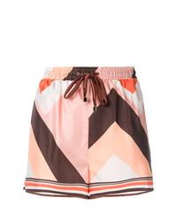 rosa bedruckte Shorts von F.R.S For Restless Sleepers
