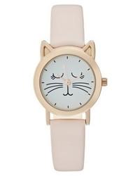 rosa bedruckte Uhr von Even&Odd