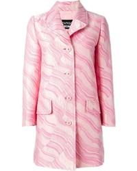 rosa bedruckter Mantel