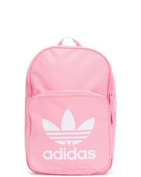 rosa bedruckter Rucksack von adidas