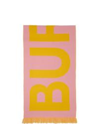 rosa bedruckter Schal von Burberry