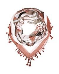 rosa bedruckter Schal von Even&Odd