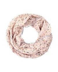 rosa bedruckter Schal von s.Oliver
