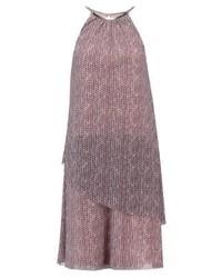 rosa bedrucktes Camisole-Kleid von Esprit