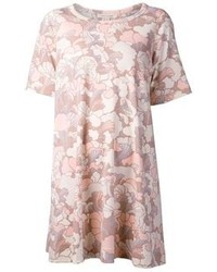 rosa bedrucktes Freizeitkleid von Marc Jacobs