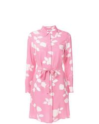 rosa bedrucktes Shirtkleid von P.A.R.O.S.H.