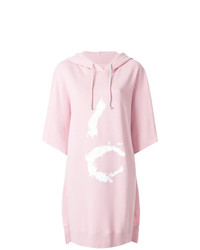 rosa bedrucktes Sweatkleid von MM6 MAISON MARGIELA