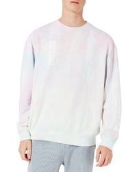 rosa bedrucktes Sweatshirt