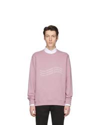 rosa bedrucktes Sweatshirt von Givenchy