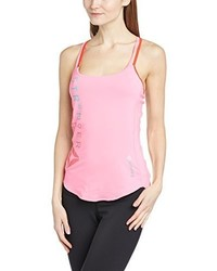 rosa bedrucktes Trägershirt von Reebok