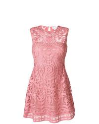 rosa besticktes ausgestelltes Kleid von RED Valentino
