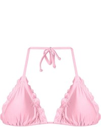 rosa Bikinioberteil