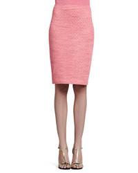 rosa Bleistiftrock