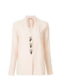 rosa Bluse mit Knöpfen von N°21