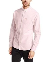 rosa Businesshemd von BLEND