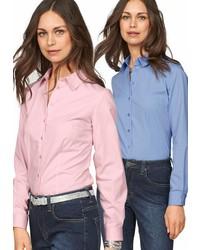 rosa Businesshemd von FlashLights