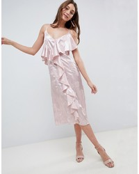 rosa Camisole-Kleid aus Satin von ASOS DESIGN