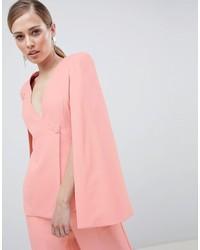 rosa Cape-Blazer von Lavish Alice