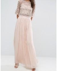 newest 20c40 70012 rosa Chiffon Maxirock von Needle & Thread, €131 | Asos ...