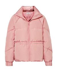 rosa Daunenjacke