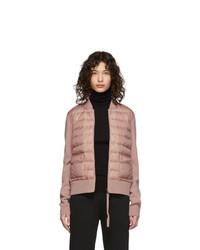 rosa Daunenjacke von Moncler