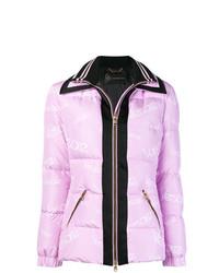 rosa Daunenjacke von Versace