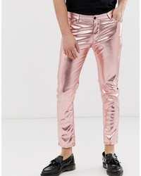 rosa enge Jeans von ASOS DESIGN