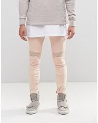 rosa enge Jeans von Asos