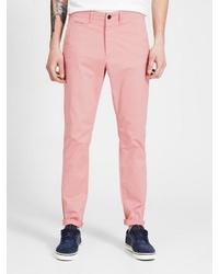 rosa enge Jeans von Jack & Jones
