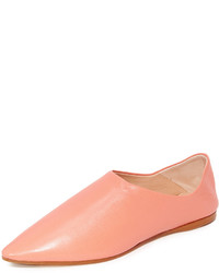 rosa flache Sandalen von Acne Studios