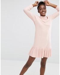 rosa Freizeitkleid
