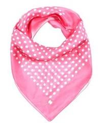 rosa gepunkteter Schal von Esprit