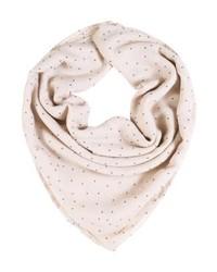 rosa gepunkteter Schal von mint&berry