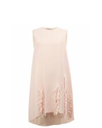 rosa gerade geschnittenes Kleid von Maison Rabih Kayrouz