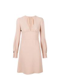 rosa gerade geschnittenes Kleid von N°21