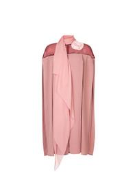 rosa gerade geschnittenes Kleid von Pose Arazzi