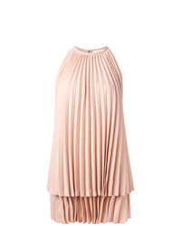 rosa gerade geschnittenes Kleid von Sara Battaglia