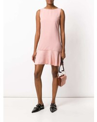 rosa gerade geschnittenes Kleid von Theory